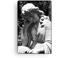 Restful Mourning Canvas Print