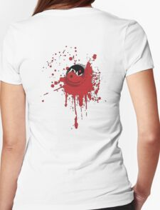 Bloody Cap (Dark) Womens Fitted T-Shirt
