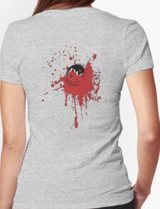 Bloody Cap (Dark) Womens Fitted T-Shirt