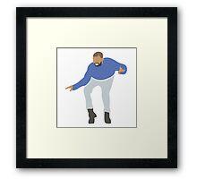 Drake Hotline Bling  Graphic Framed Print