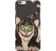 wicked cat  iPhone Case/Skin