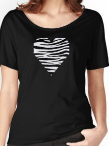 0284 Ghost White or Magnolia Tiger Women's Relaxed Fit T-Shirt