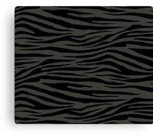 0394 Black Olive Tiger Canvas Print