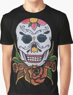 day of the dead face Graphic T-Shirt