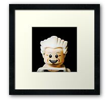 Is Doc Brown Back to The Future? Framed Print