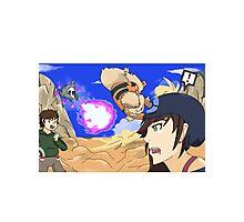 pokemon battle Photographic Print