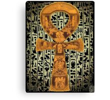 egypt ankh life Canvas Print