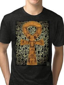 egypt ankh life Tri-blend T-Shirt