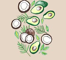 Coconuts & Avocados Womens Fitted T-Shirt