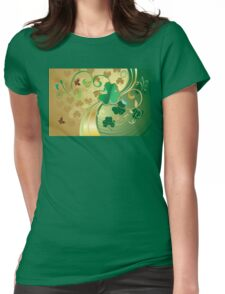St Patricks Day Design 8 Womens Fitted T-Shirt