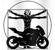 Da Vinci Bike Poster