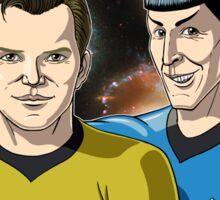 Star Trek - Kirk & Spock Sticker