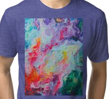 Elements - Spectrum Abstraction Tri-blend T-Shirt