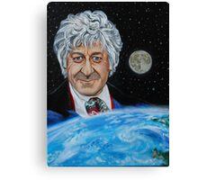Third Doctor (Jon Pertwee) Canvas Print