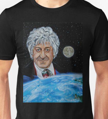 Third Doctor (Jon Pertwee) Unisex T-Shirt