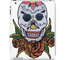 sugar skullllllll iPad Case/Skin