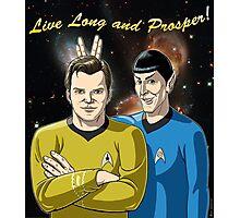 Star Trek - Kirk & Spock Photographic Print