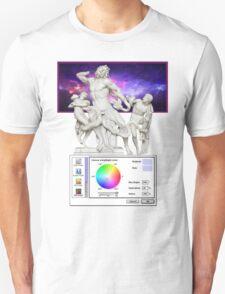Galaxy Greeks Vaporwave Aesthetics Unisex T-Shirt