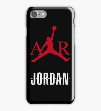 M Jordan air iPhone Case/Skin