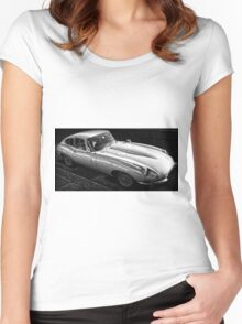 Classic British Car Women's Fitted Scoop T-Shirt