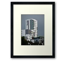 The Mill Across The Roof Tops Framed Print