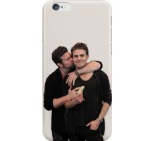 Paul Wesley and Daniel Gillies iPhone Case/Skin