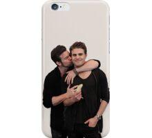 Paul Wesley and Daniel Gillies iPhone Case/Skin