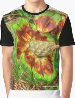 Hoop Pine Fruit Patterns Graphic T-Shirt