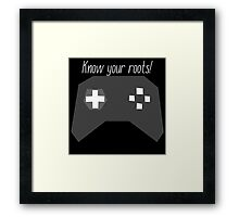 Always gamers at heart Framed Print