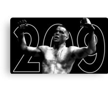 nate diaz 209 Canvas Print