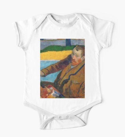 1888 - Gauguin -  Vincent van Gogh painting sunflowers One Piece - Short Sleeve