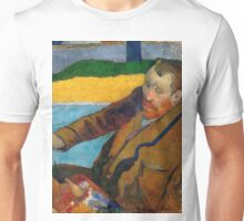 1888 - Gauguin -  Vincent van Gogh painting sunflowers Unisex T-Shirt