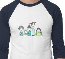 The Kokeshis and the Babushka Men's Baseball ¾ T-Shirt