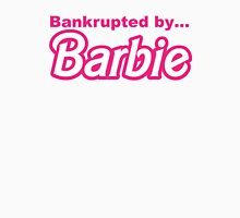 Bankrupted by... BARBIE Womens Fitted T-Shirt
