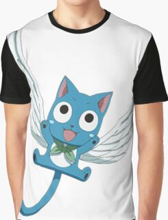 Fly Happy - Fairy Tail Graphic T-Shirt
