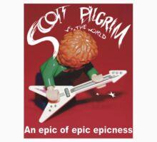 Lego Scott Pilgrim Vs The World One Piece - Short Sleeve