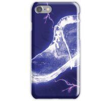 'Electric Blue Shoe' iPhone Case/Skin