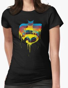 FACE OFF 3D Womens Fitted T-Shirt