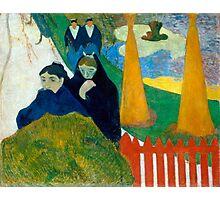1888 - Gauguin - Arlésiennes (Mistral) Photographic Print