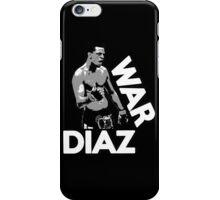 WAR DIAZ iPhone Case/Skin