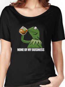 kermit meme rare Women's Relaxed Fit T-Shirt