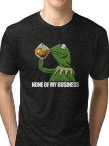 kermit meme rare Tri-blend T-Shirt