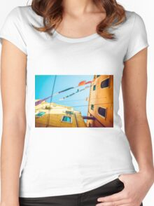 Venice's Architecture Women's Fitted Scoop T-Shirt