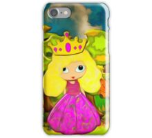 A Party for a Princess iPhone Case/Skin