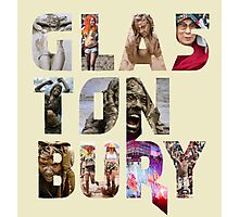 GLASTONBURY MUD FESTIVAL 2016 DESIGN Photographic Print