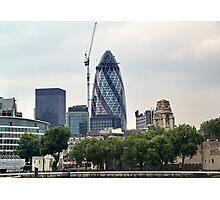 London Gherkin Photographic Print