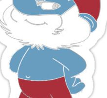 Papa Smurf Sticker