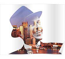 Frank Sinatra New York  Poster