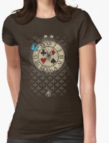 New adventure in Wonderland Womens Fitted T-Shirt