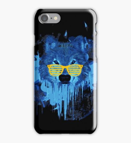 THE DUDE WOLF iPhone Case/Skin